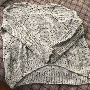 Poof thick knitted sweater